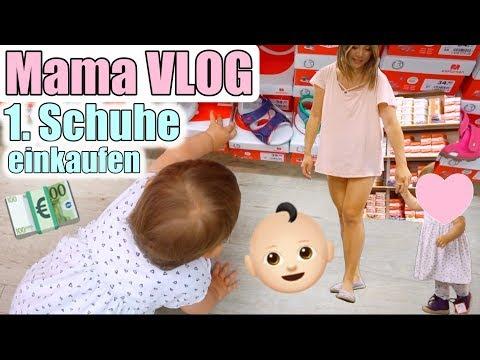 Erste Lauflernschuhe 😍 Shopping mit Baby Lili | Mama Alltag Vlog | Mamiseelen