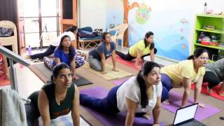 modified surya namaskar in pregnancy by Dr. swati bajaj