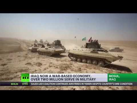 Iraq now a war-based economy, with over 2 million serving in military