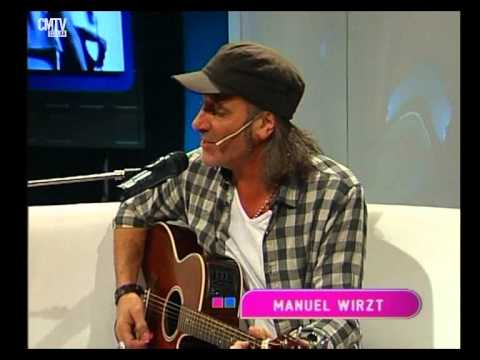Manuel Wirzt video Tanto amor - Estudio CM - Mayo 2015