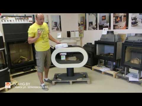Подробный видео обзор печи-камина Invicta Fifty