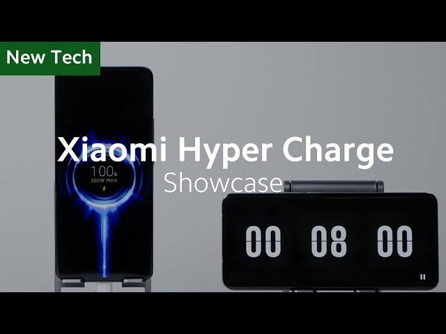 Гиперзарядное устройство Xiaomi зарядит смартфон всего за 8 минут