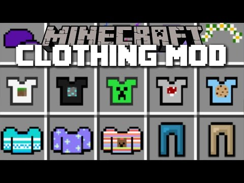 Minecraft OUTFIT JUJU CLOTHING MOD / PLAY WITH ZYAN CAT OUTFITS AND PLENTY OF OTHERS!! Minecraft