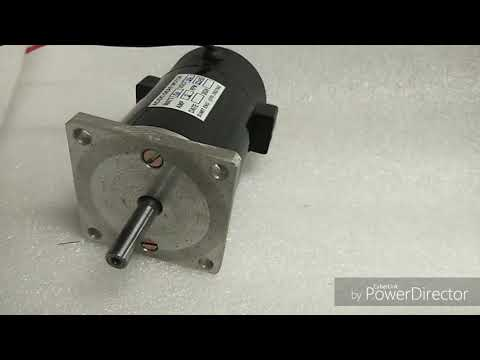 Permanent Magnet DC Motor 100W