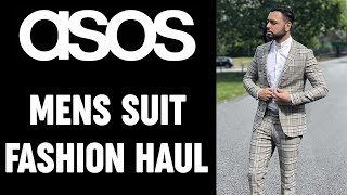 ASOS Mens Fashion Haul & Try-On | Wedding Suits 2019