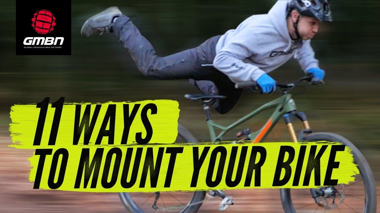 11 modi fighi per montare in sella