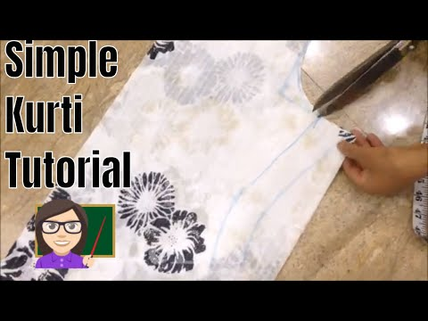 Suit/Kameez Cutting And Stitching Very Easy Method Step By Step
