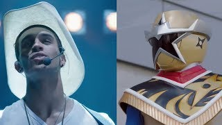 Power Rangers Ninja Steel - Rocking and Rolling - Levi's Music Song Concert | Episode 9