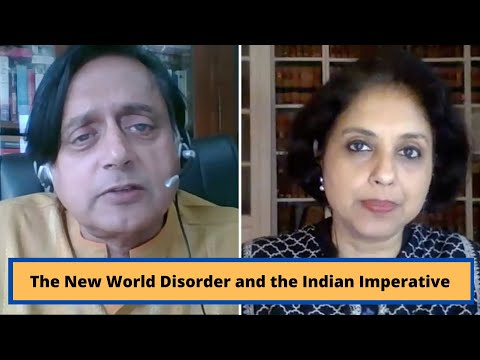 The New World Disorder and the Indian Imperative I Shashi Tharoor #COVID19