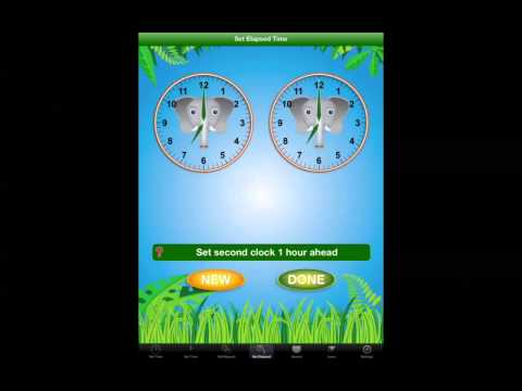 Screenshot of video: Jungle Time App