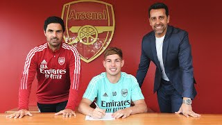 'He totally deserves the new contract' | Mikel Arteta on Emile Smith Rowe