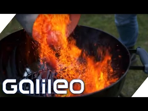 Darum ist der kugelrunde Holzkohlegrill so beliebt | Galileo | ProSieben