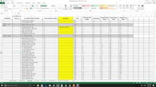 2017 Fantasy Football Rankings Cheat Sheet Excel Spreadsheet Tool for Live Draft