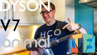 Dyson V7 Animal - Full Review & Real Life Battery Test!