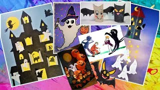 Поделки и рисунки на Хэллоуин и не только!