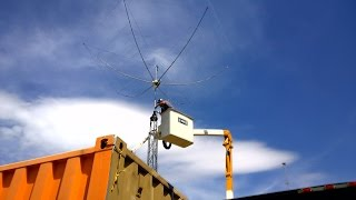 Putting Up A Hex Beam Antenna