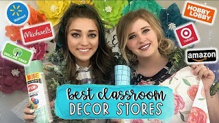 Best Classroom Decor Stores | Teacher Decorating Must Haves