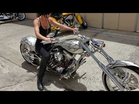 2006 Big Bear Choppers Sled Prostreet (CA) - [SLEDPROSTREET] - Silver in Temecula, California - Video 1