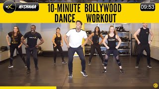 10 Minute Bollywood Dance Workout to Improve Your Mood While Burning Calories!