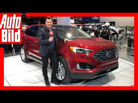 Ford Edge Facelift (NAIAS 2018) Details/Erklärung
