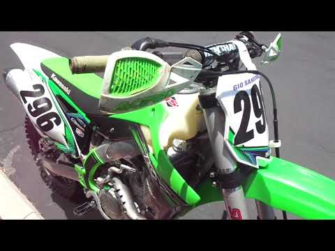 2015 Kawasaki KX™450F in Chula Vista, California - Video 1