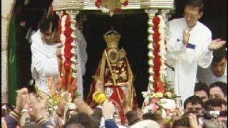 preview picture of video 'Romería de la Virgen de la Cabeza 1991: primera retransmitida por Canal Sur'