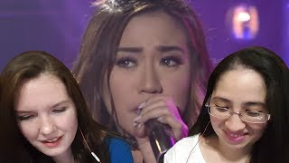 Morissette sings Nothing's Gonna Stop Us Now on MYX Live! Reaction Video