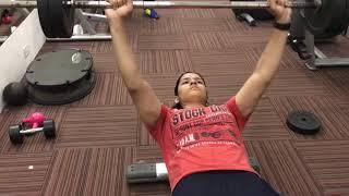 Weight Training Video Of Naina Jaiswal and Agastya Jaiswal