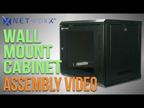 Networx® Wall Mount Cabinet Assembly Video