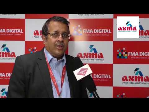 Mr. Krishna Gopal, Global Head - Sales, Tech Mahindra at ASMA Annual Convention 2017