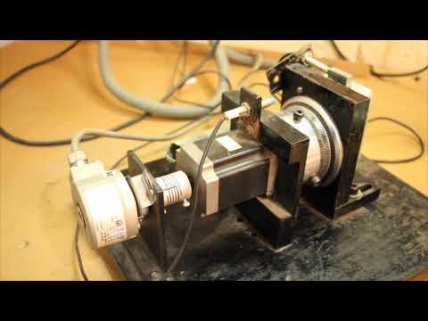 Combination lock testing machine