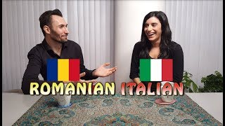 Similarities between Romanian and Italian