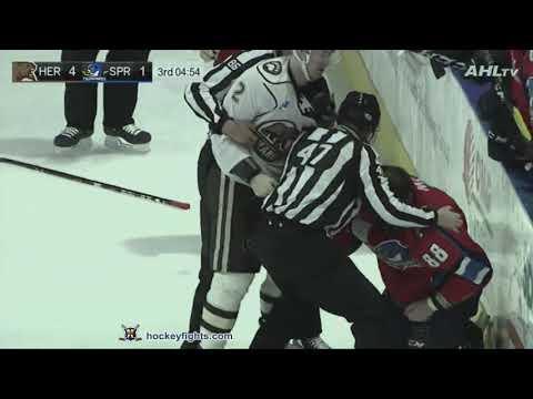 Jamie McGinn vs. Tyler Lewington