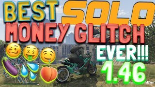 (100% WORKING!) GTA 5 - BEST SOLO MONEY GLITCH EVER! MAKE MILLIONS EASY AND FAST! AFTER PATCH 1.46