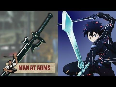 Quy trình tạo ra kiếm của Kirito (SAO) !!!!!!!!!