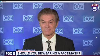 Will Wearing Face Masks Protect Against Coronavirus? Dr. Oz Weighs In    FOX 5 DC