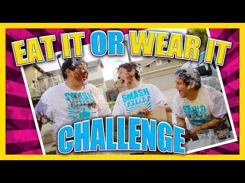 Eat It Or Wear It Challenge - Kids Style