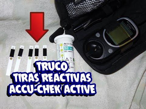 CÓMO USAR TIRAS ACCU CHEK ACTIVE ►GLUCÓMETRO SIN PILA glicosímetro ►GLUCOSA EN SANGRE-DIABETES