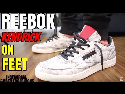 2017 Reebok Classic x Kendrick Lamar 'Club C' In-Depth Review + On-Feet