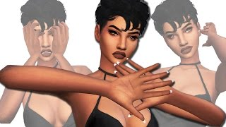 ✧ The Sims 4 | CC Finds #4 | Kylie Jenner Nails, DIY Nose Rings, Hair & More | 50+ items ✧