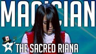The Sacred Riana   All Performances   Asia's Got Talent   Magician's Got Talent