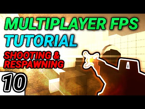 [10] Multiplayer FPS in Unity: Shooting, Damage, & Respawning