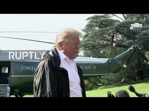 USA: Trump hails 'tremendous progress' on DPRK before heading for Carolinas