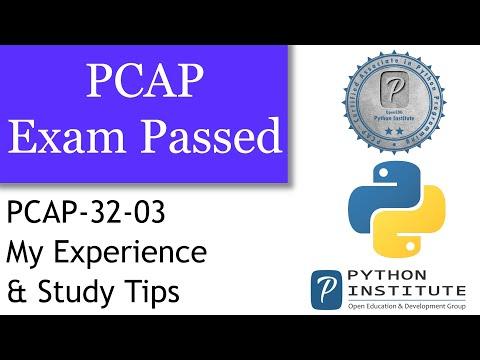 PCAP: Exam Passed. Certified Associate in Python Programing ...