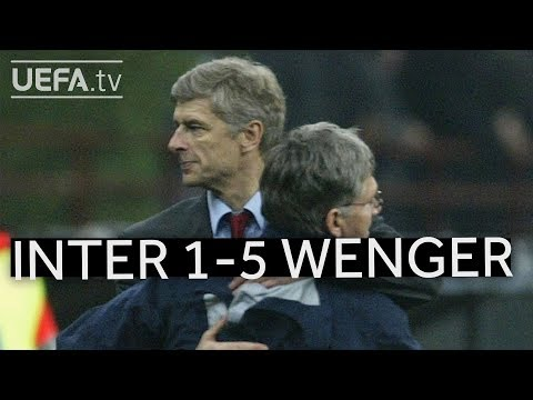 WENGER'S GREAT VICTORIES: Inter 1-5 Arsenal