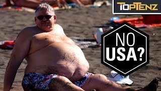 Gambar cover Top 10 FATTEST COUNTRIES in the World