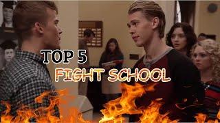 Top 5 School Fight Scenes In Movies #1