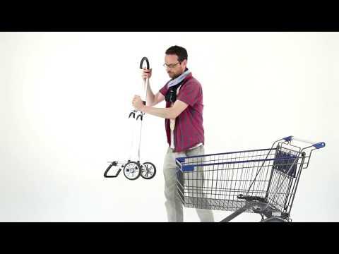 Mein Einkaufstrolley - Mit dem Einkaufstrolley im Supermarkt