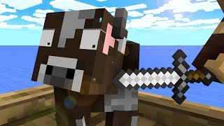 Cow Life   Craftronix Minecraft Animation