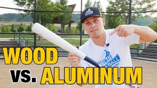 Should You Swing A Wood or Aluminum Bat?